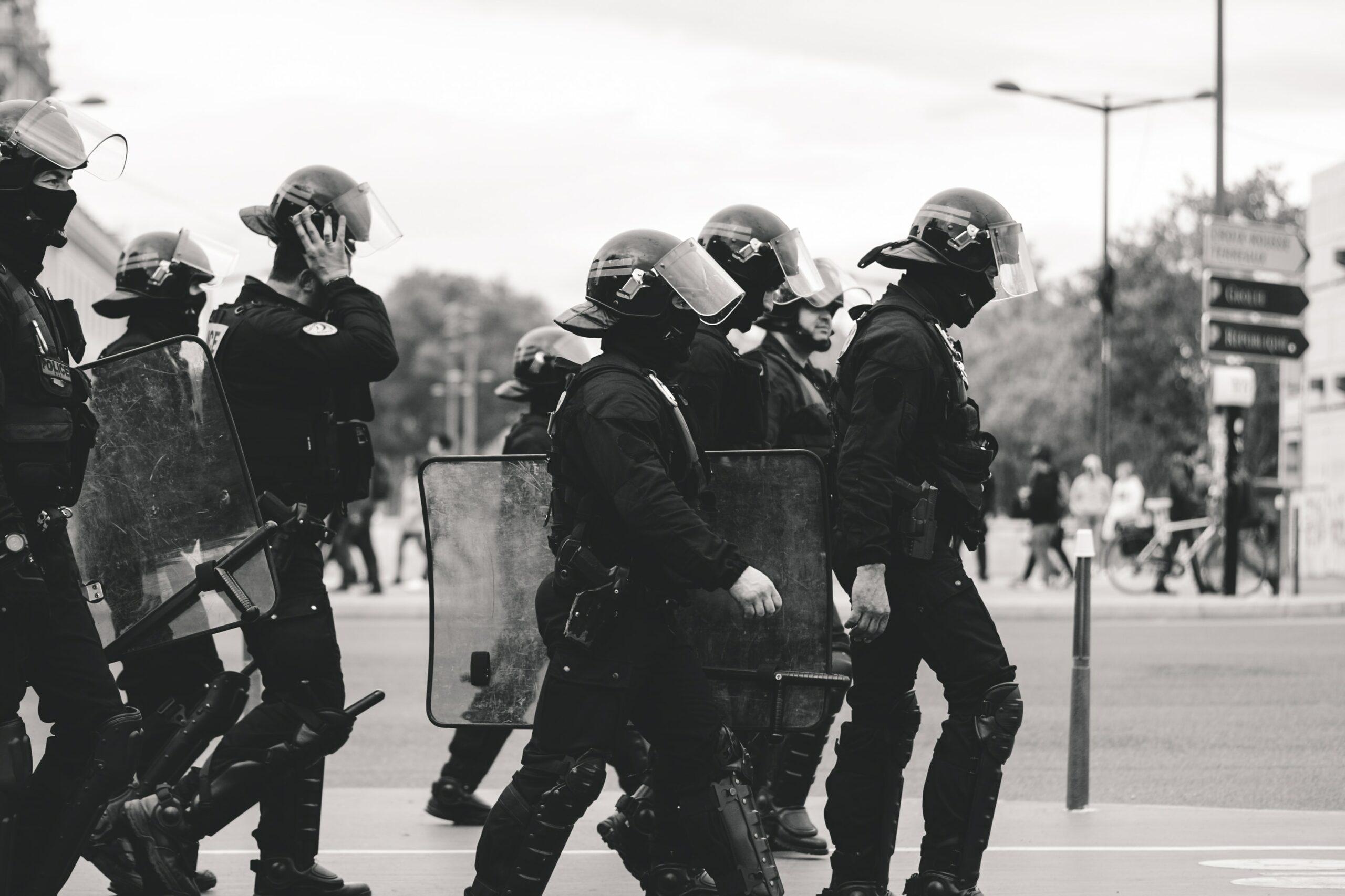 violences policieres signaler alerte CRS blessure