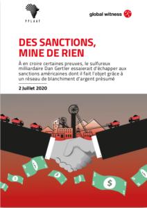 rapport des sanctions mine de rien de pplaaf et global witness