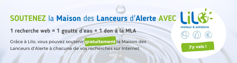 Utilisez le moteur de recherche Lilo pour soutenir gratuitement la Maison des Lanceurs d'Alerte