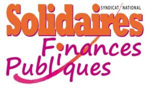Solidaires Finances Publiques